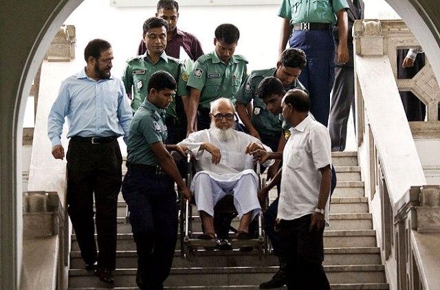 '' AwamNazi League justice: Let's arrest the wheelchair bound elderly!''